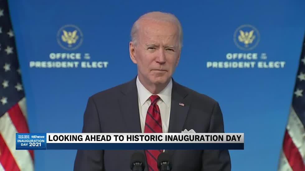 "Political experts say Biden inauguration will be ""most unique..."